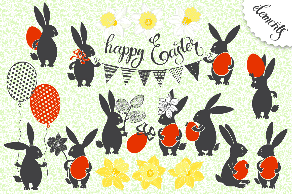 Funny Easter bunnies example image 3