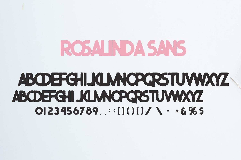 Rosalinda Three Font example image 7