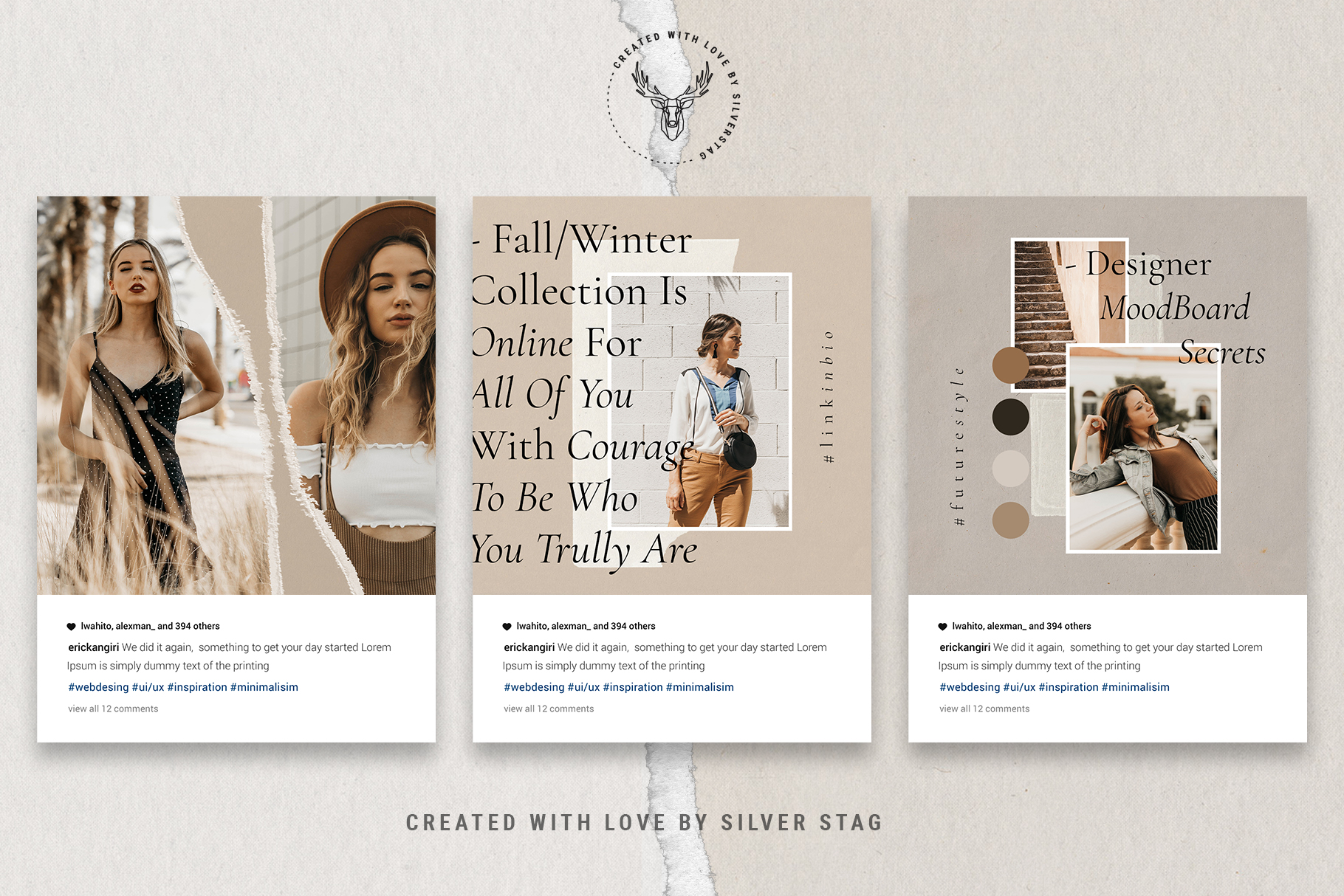 #InstaBabe Instagram Post Templates example image 15