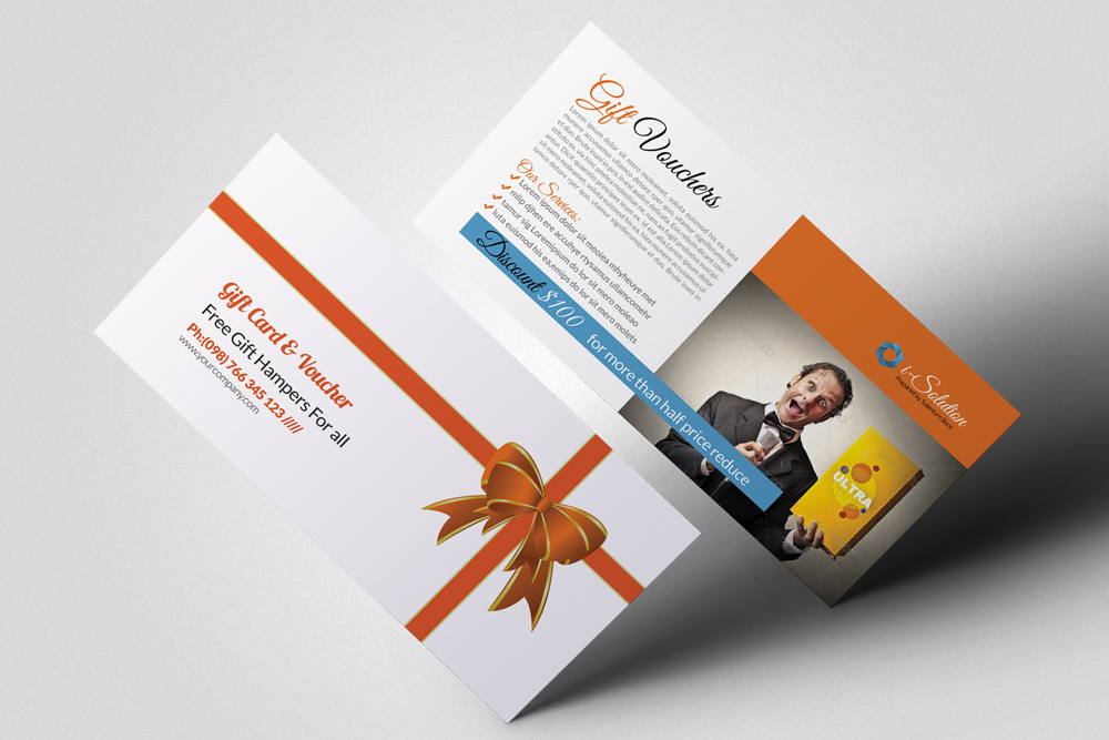 Product Promotion Gift Vouchers example image 1