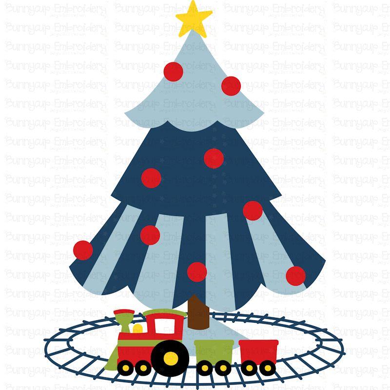 Boys Christmas Tree - SVG, Clipart, Printable example image 2
