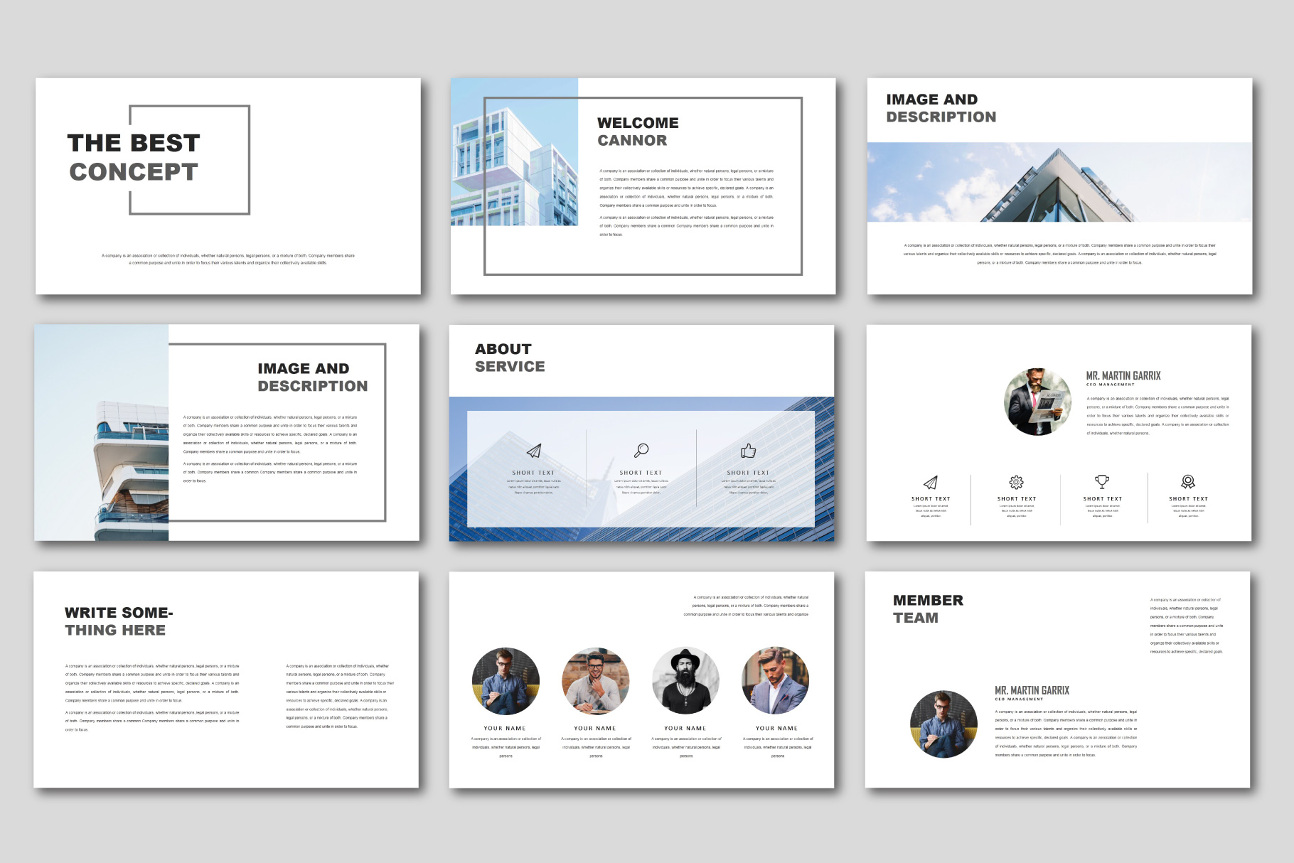 The Best Concept Business Keynote example image 2