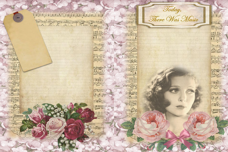 Journalling Papers with FREE Ephemera CU JPEG & PNG example image 3