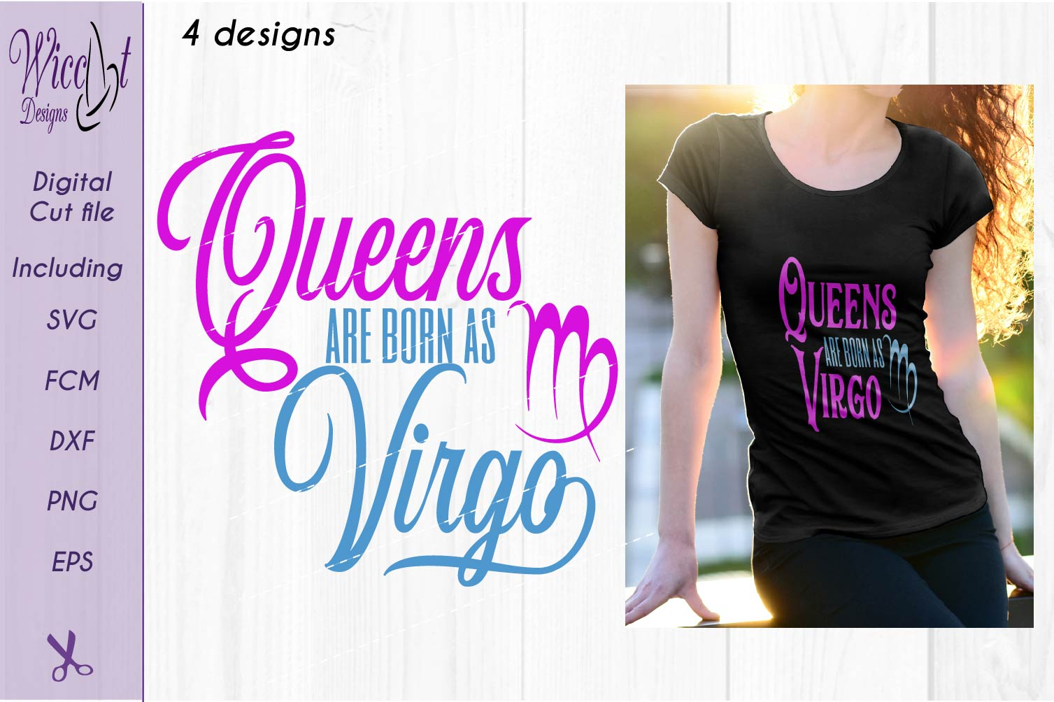 Zodiac quote svg, Queens quote svg, born as Virgo sign example image 2