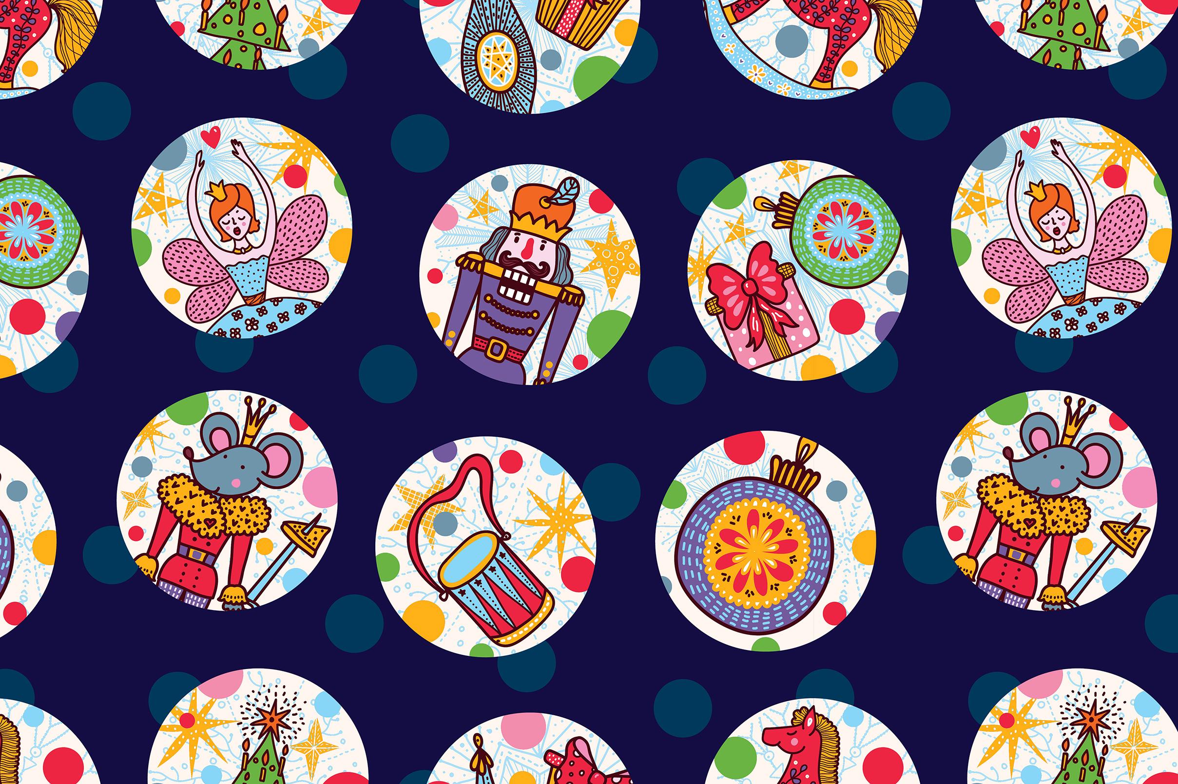 Nutcracker. Christmas story. example image 10