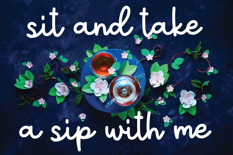 Tea Bundle - A Fun Font Bundle with Varie-Tea!! example image 9