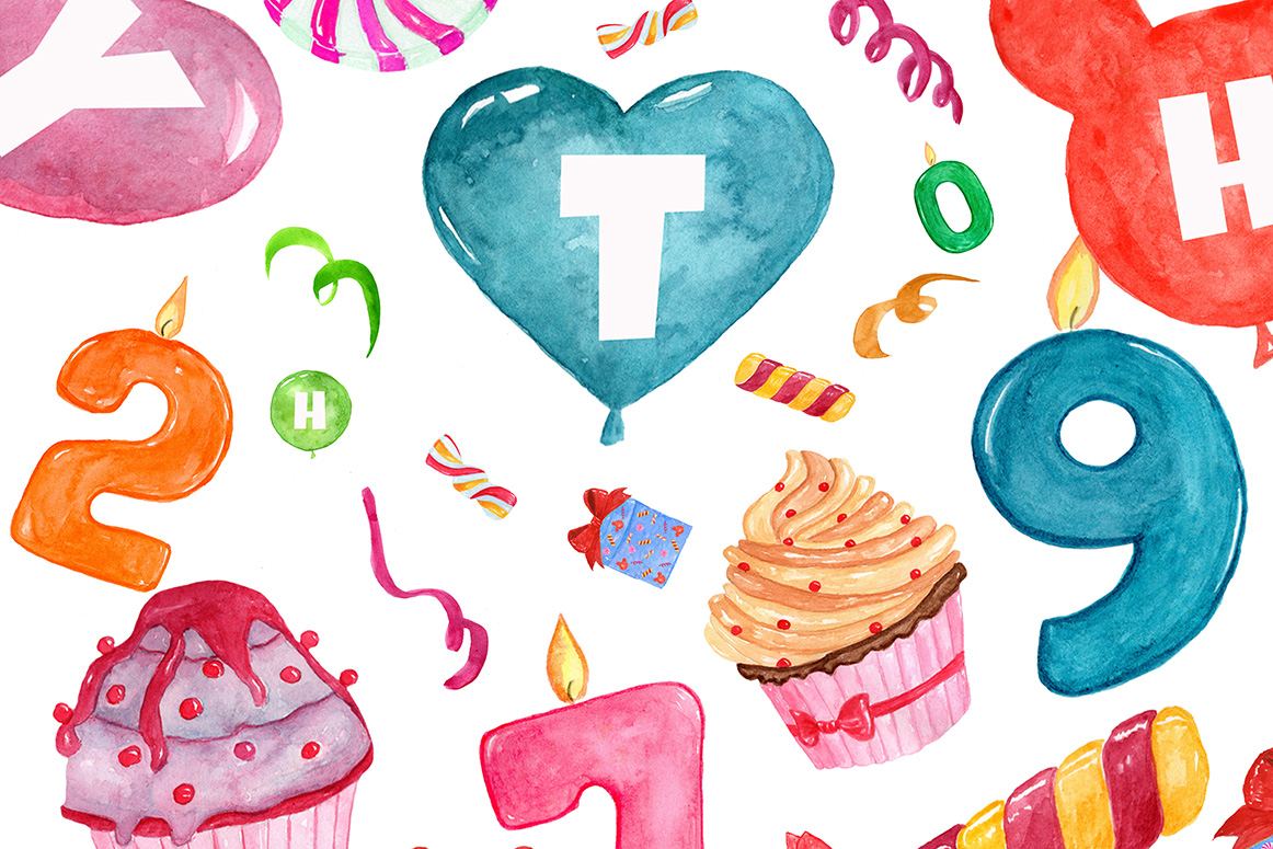 Birthday Party clipart example image 3
