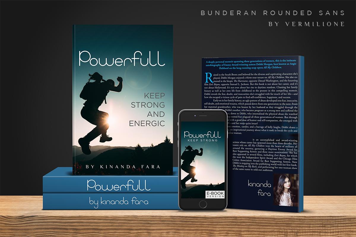 Bunderan Rounded Sans example image 6
