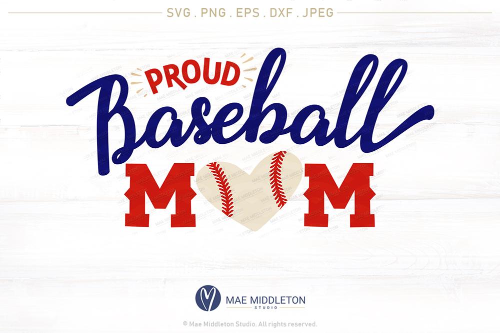 Proud Baseball Mom example image 3