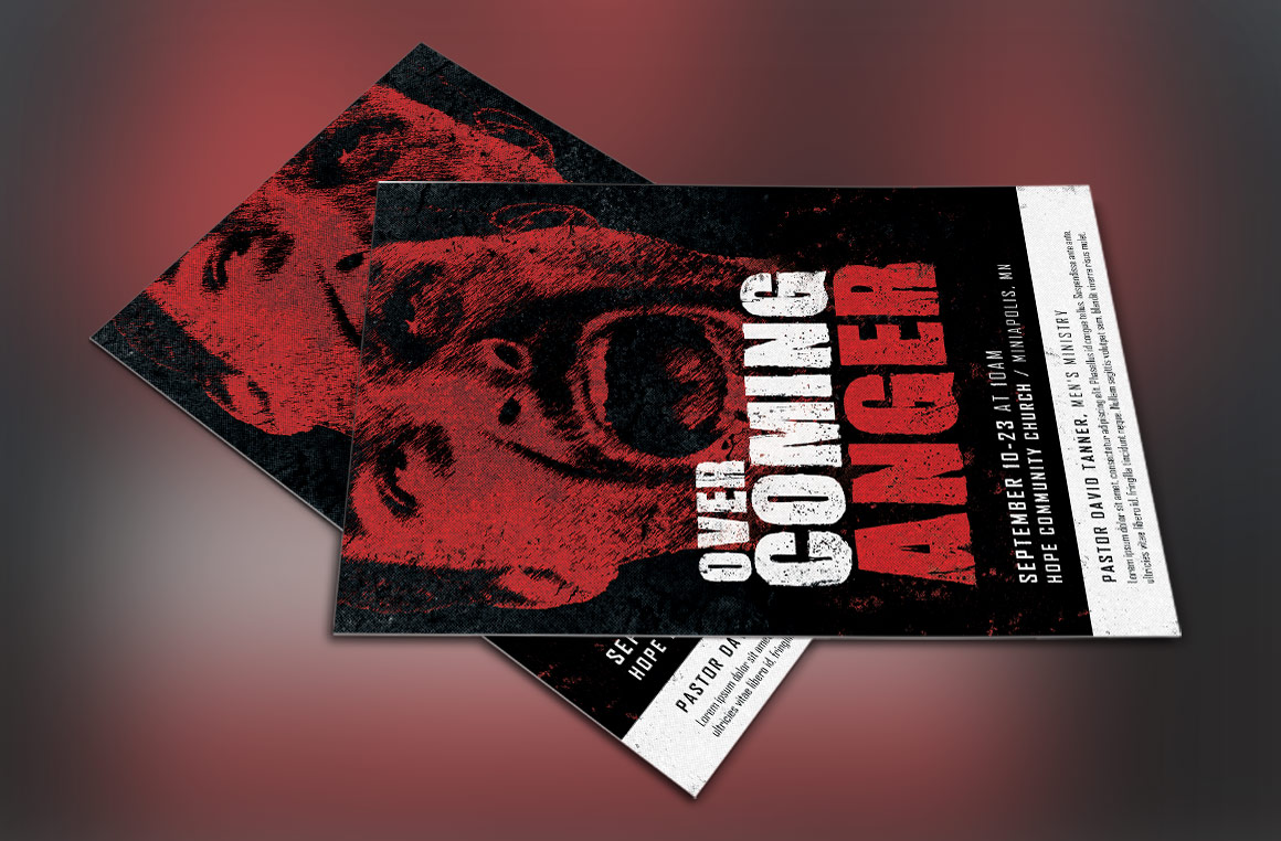 Overcoming Anger Flyer Template example image 4