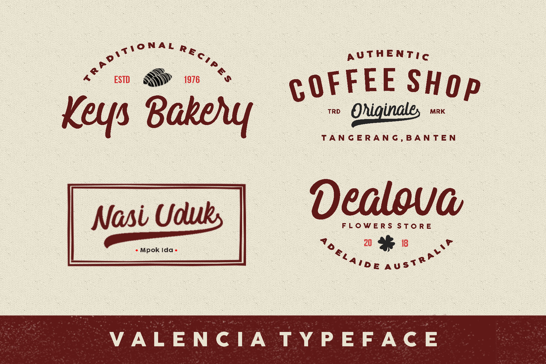Valencia Typeface example image 2