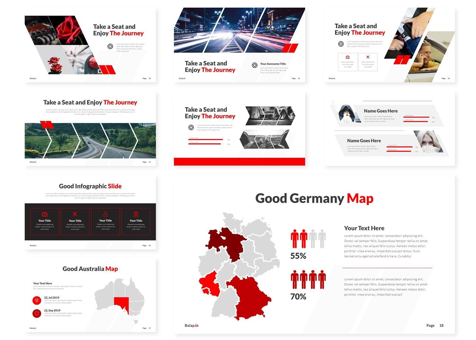 Balapin | Powerpoint, Keynote, GoogleSlides Template example image 5