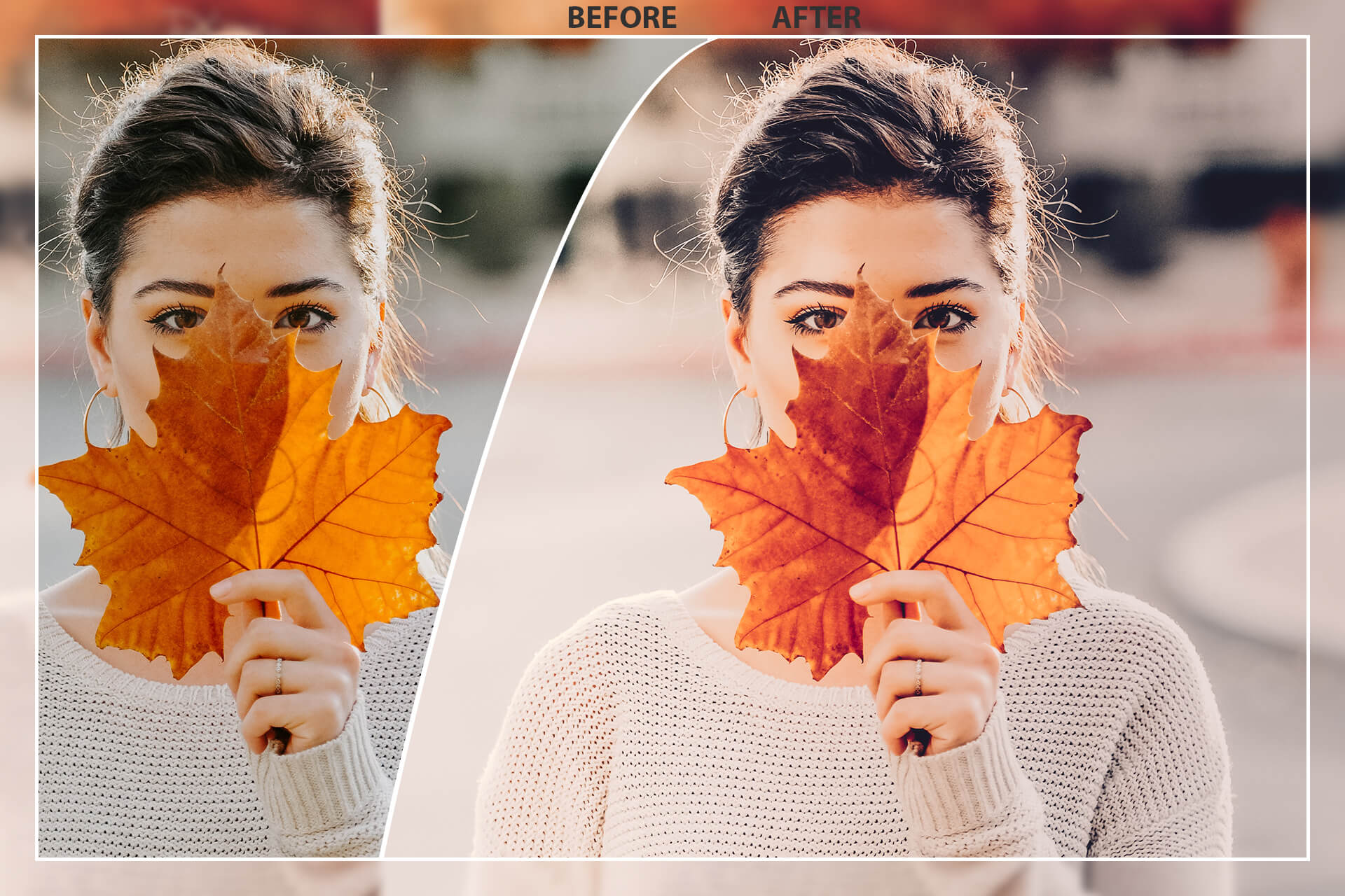 50 Autumn Mobile Lightroom Presets example image 2