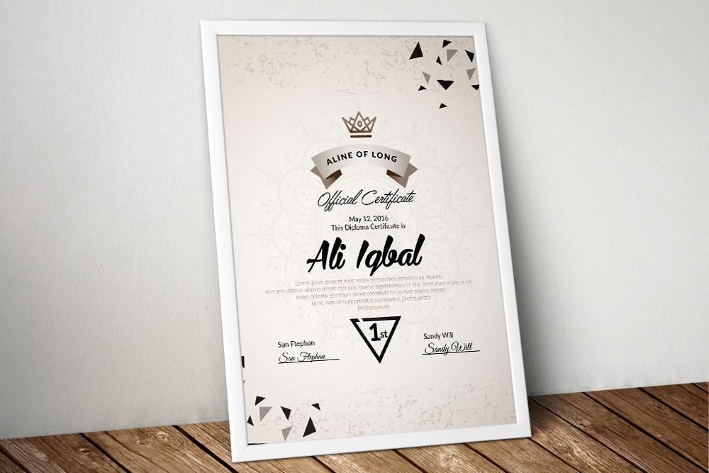 10 Certificates Template Bundle example image 5