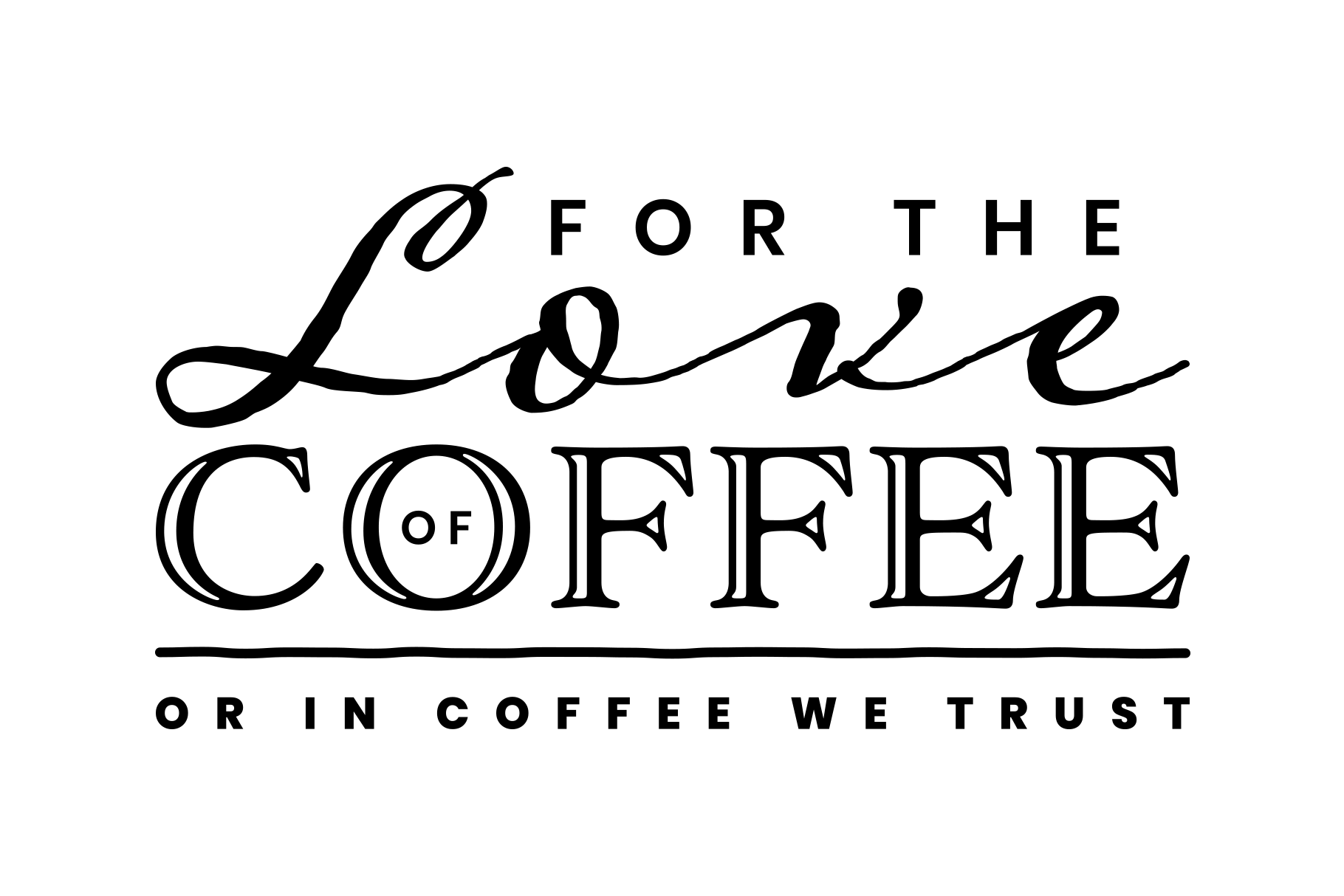 For The Love of Coffee example image 2