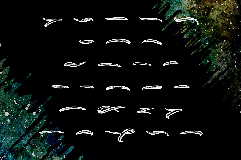 New Extreme Brush Font example image 11