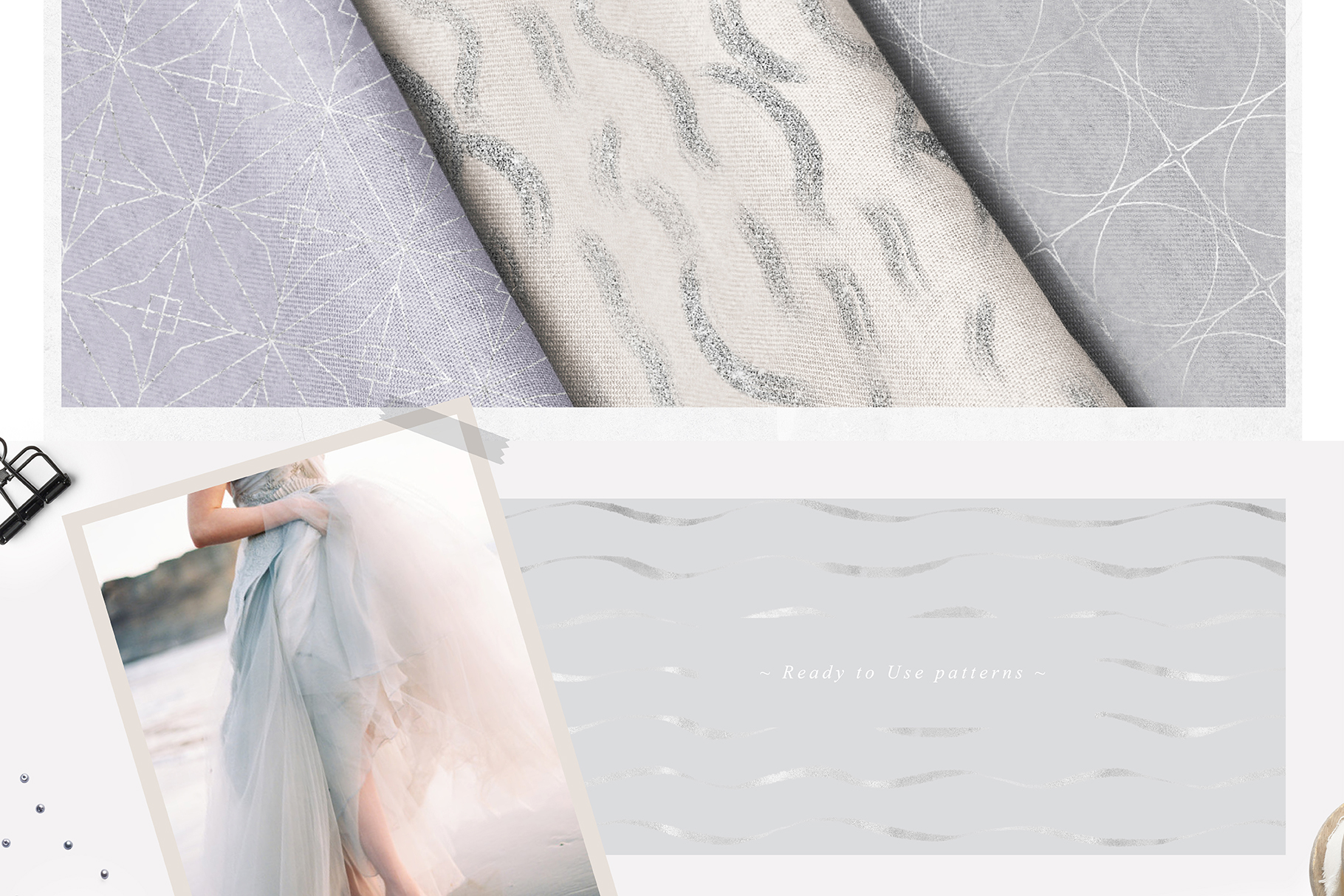 Fancy Silver Pattern Collection example image 11