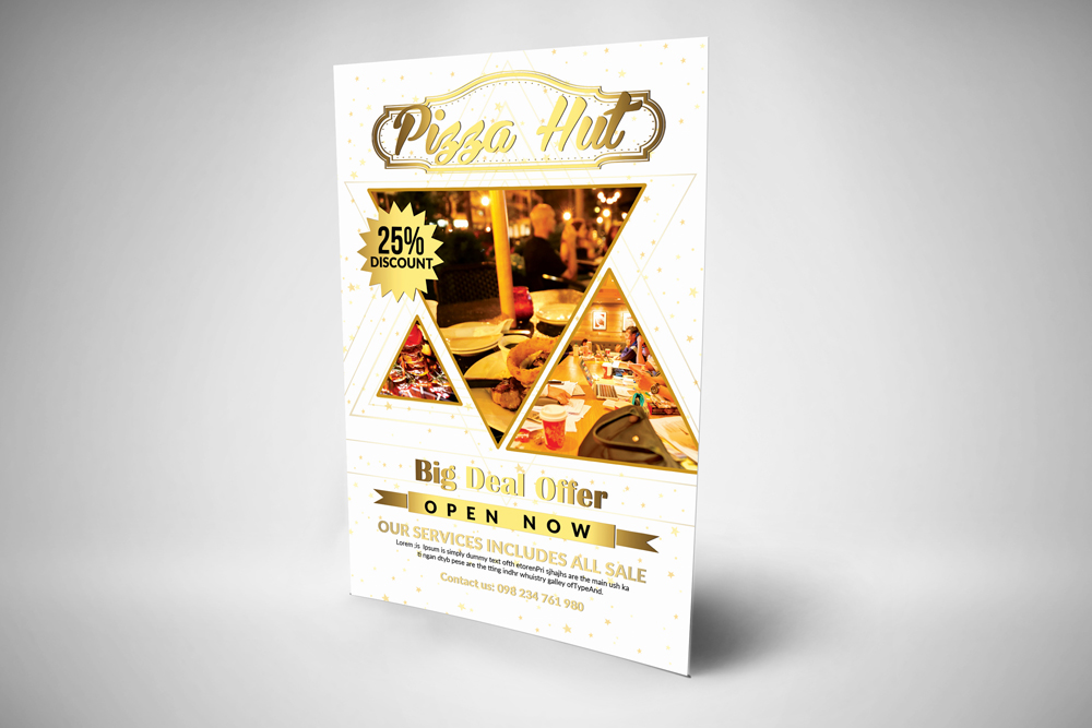 Restaurant Promotion Flyer Template example image 2