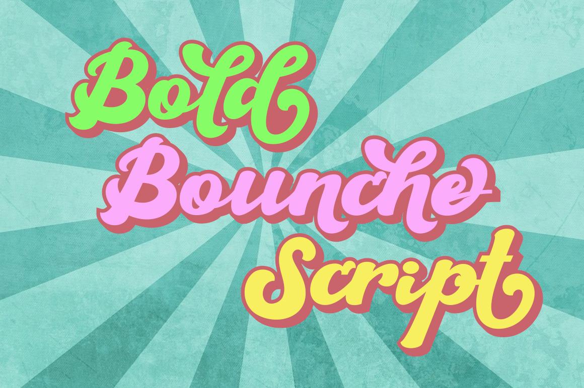 The Brandy Bold Retro Script example image 6