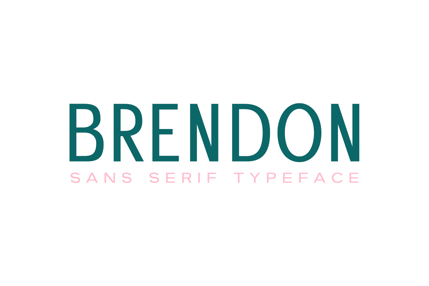Brendon Sans Serif Typeface example image 1