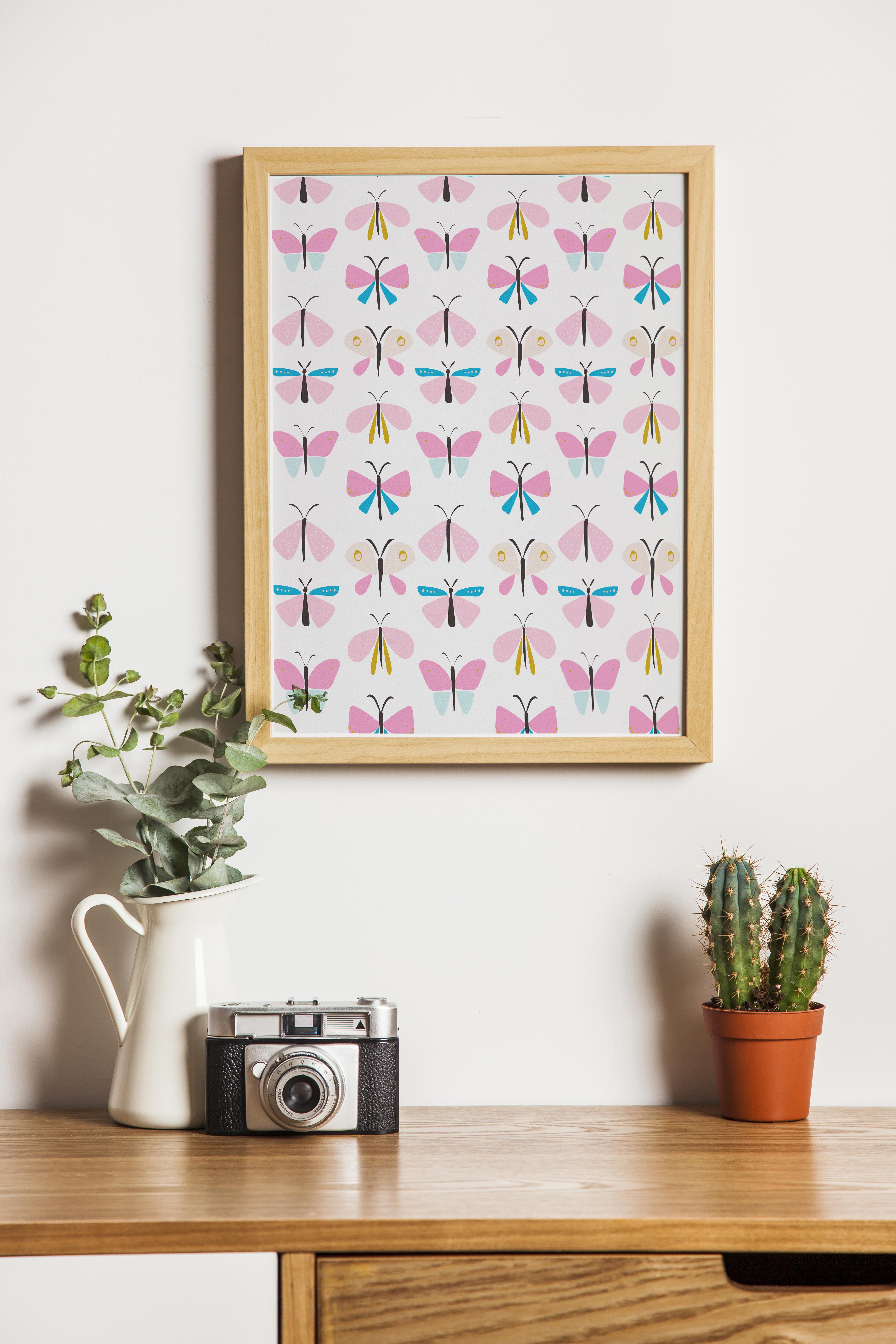 Beautiful butterflies pattern example image 5