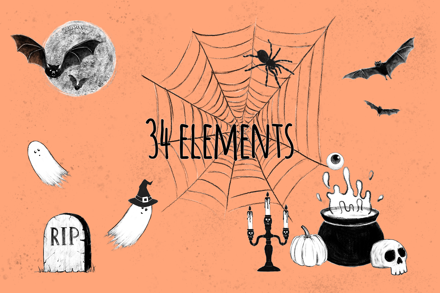Halloween Collection png example image 2