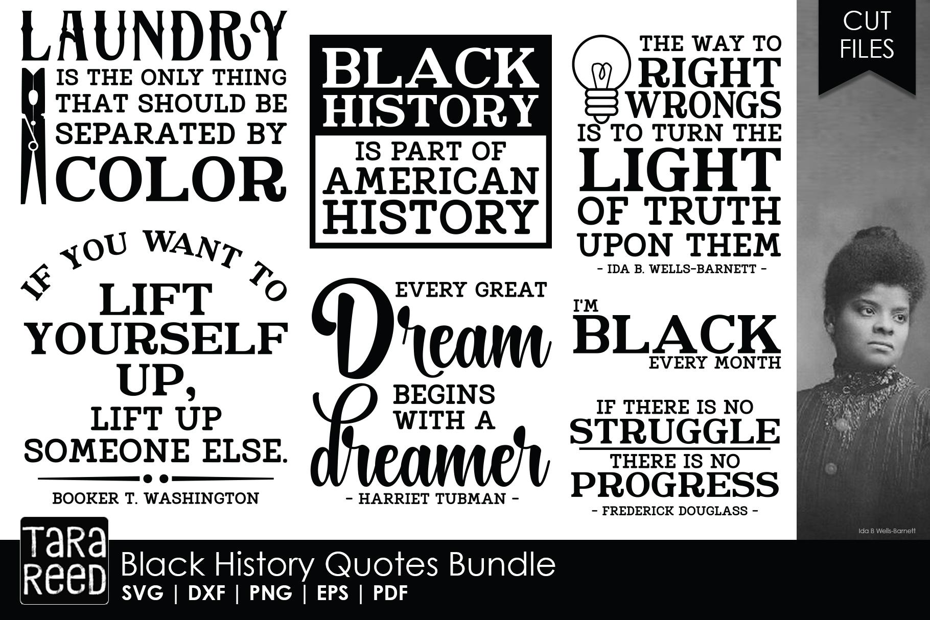 Black History Quote Bundle