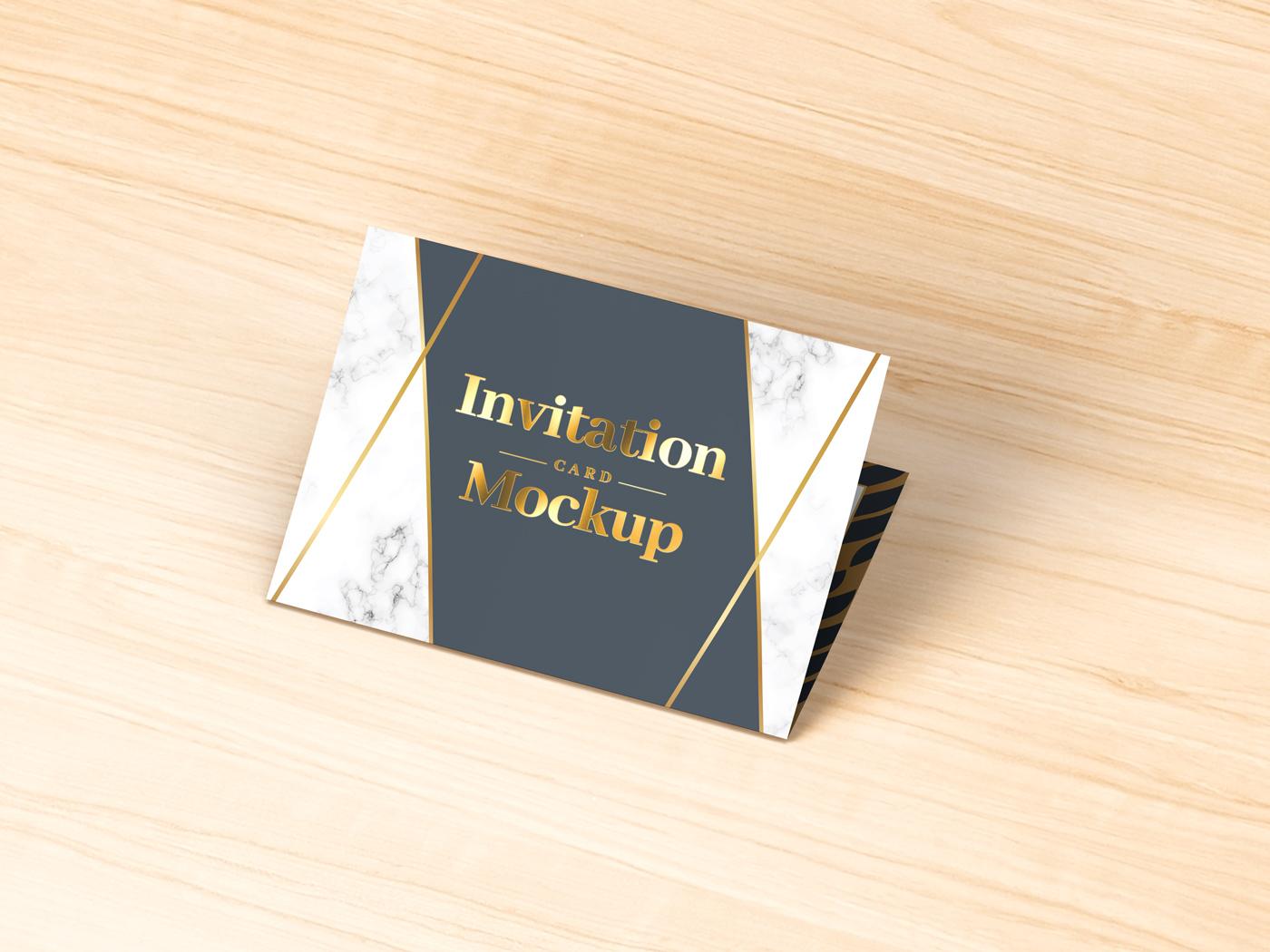 Invitation Card Mockups V1 example image 14
