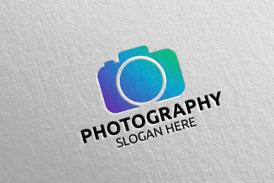 Abstract Camera Photography Logo 15 example image 5