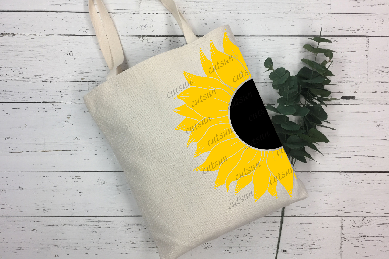 Sunflower SVG bundle   Floral bundle SVG example image 8