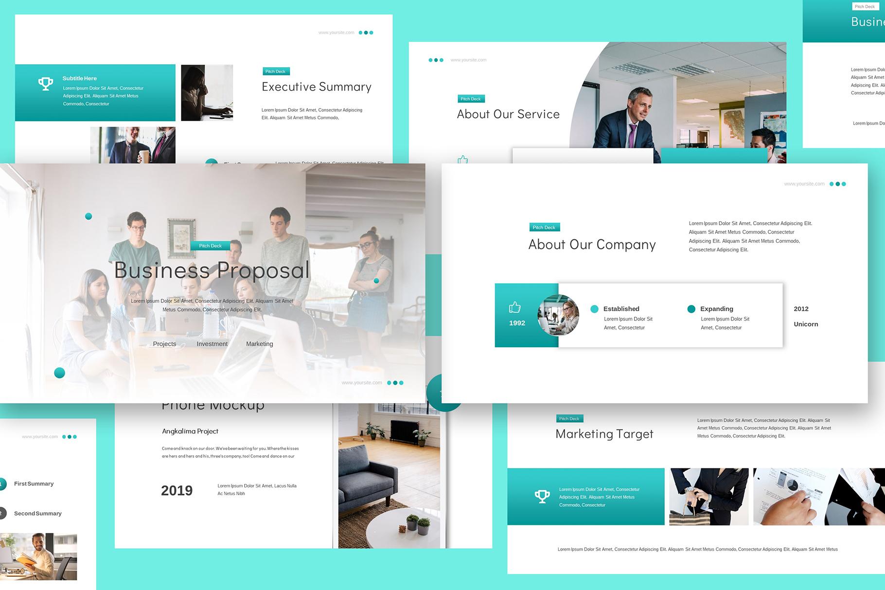 Business Proposal Google Slides example image 3