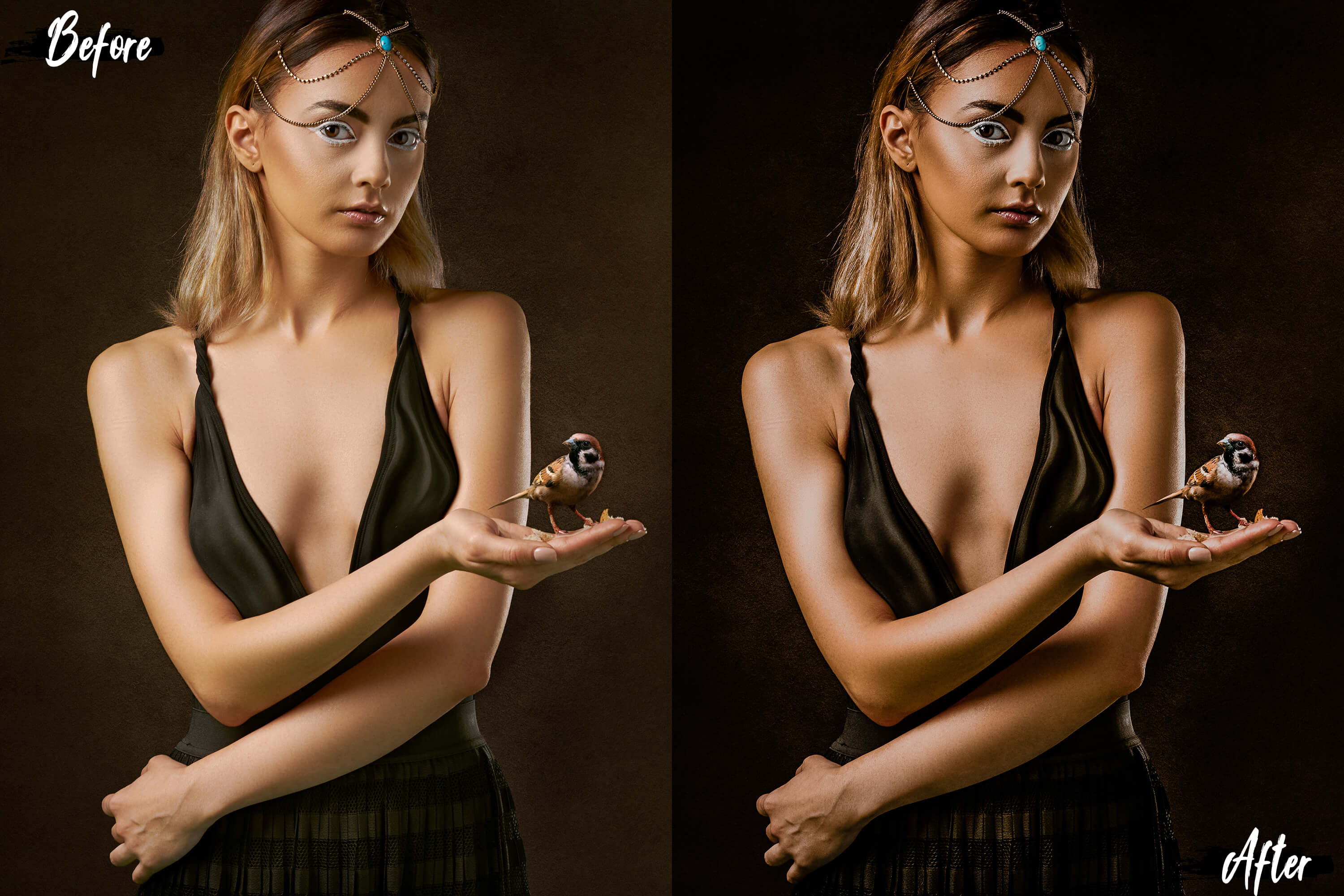 5 Hot chocolate Photoshop Actions, ACR and LUT presets example image 10