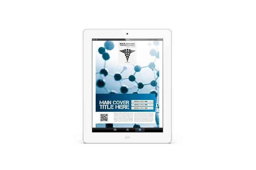 Digital Magazine Template 4 Business example image 4