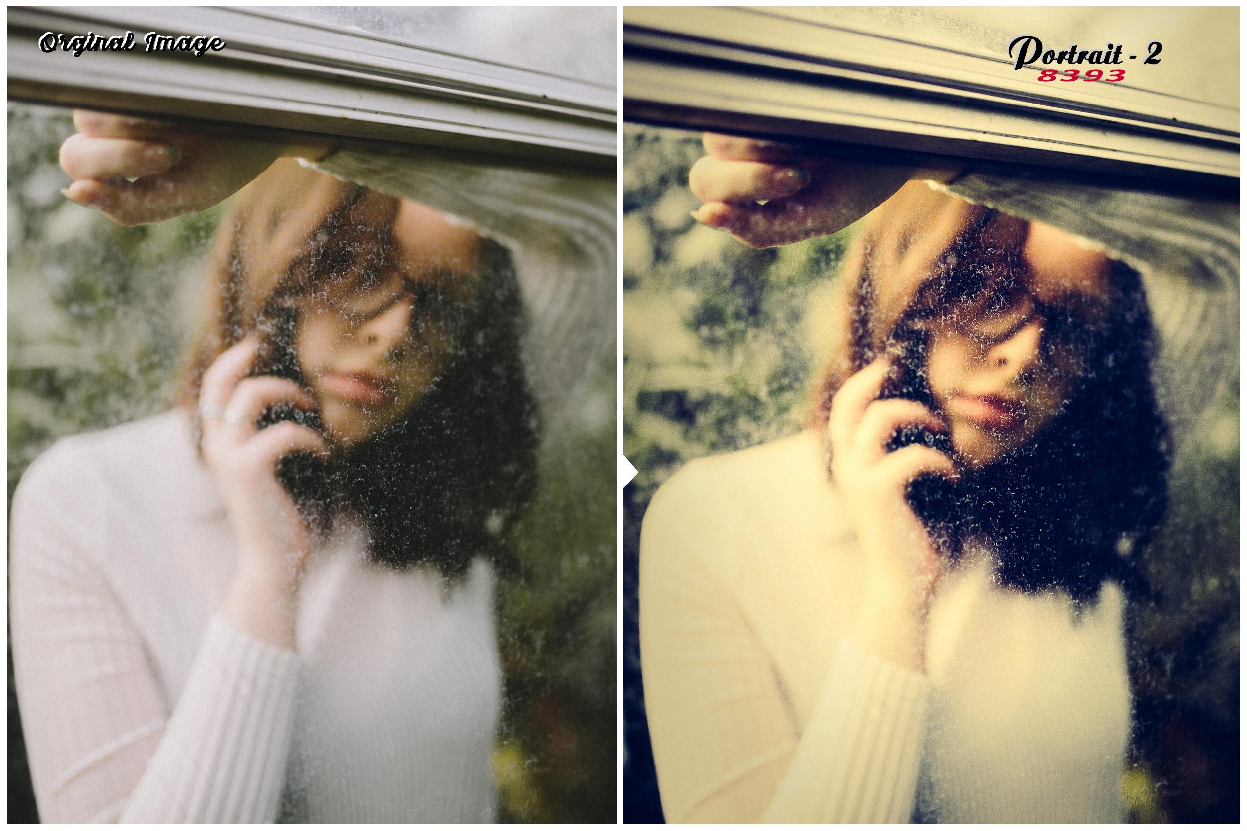 100 Premium Portrait-2 Lightroom Presets example image 9