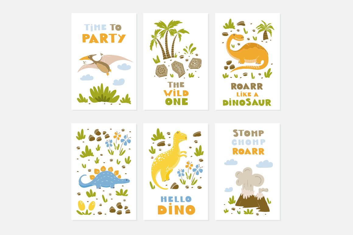 Dinosaur Party collection! example image 7
