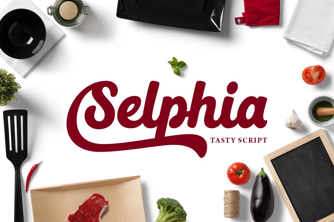 Selphia Script example image 1