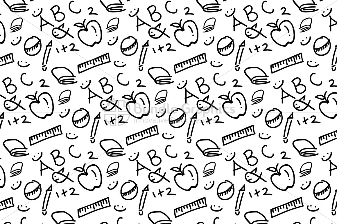 Kindergarten Education Pattern example image 3