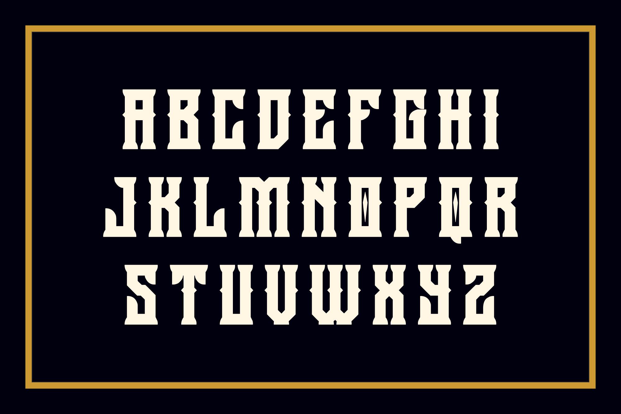 Holics Typeface example image 2