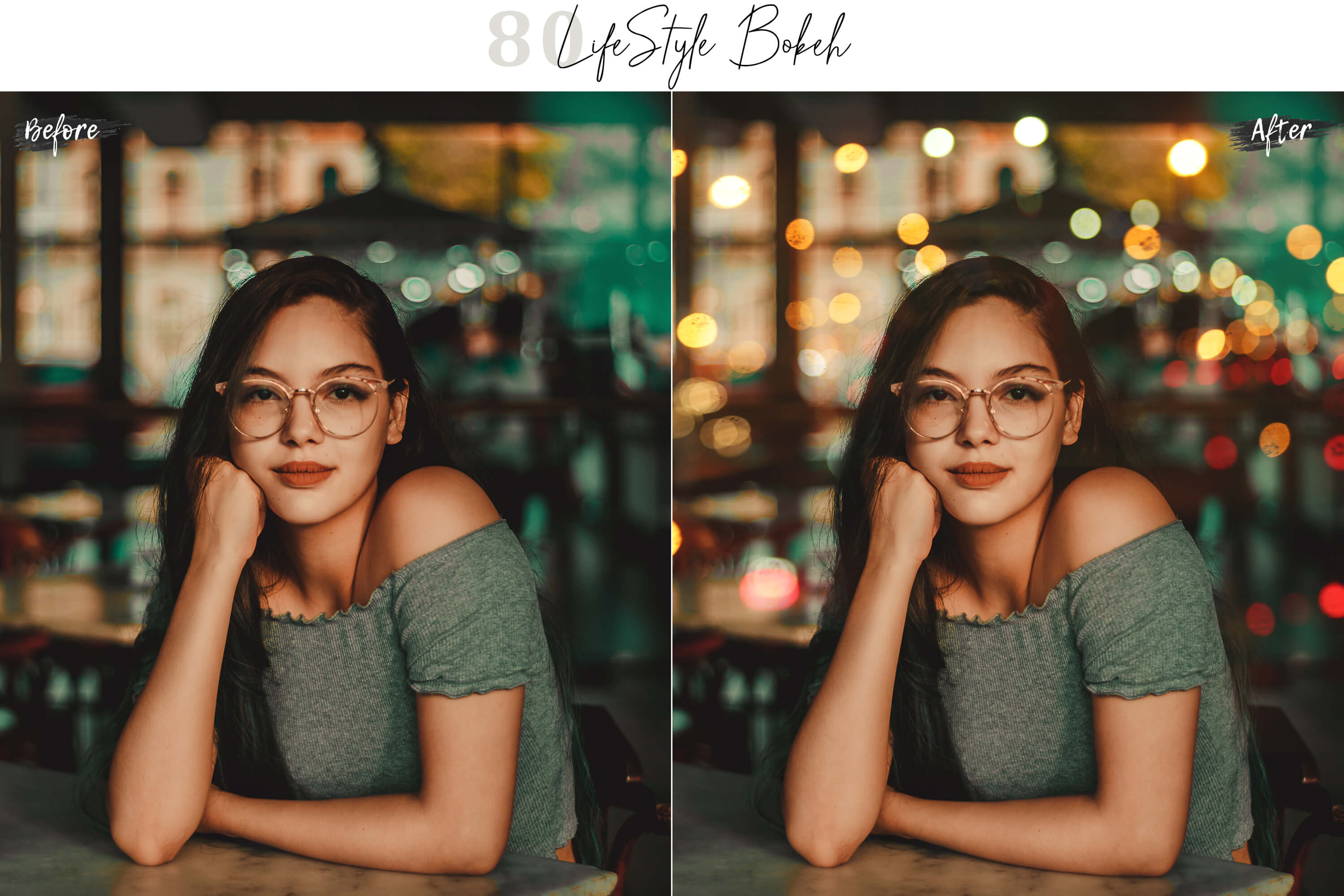 80 Life Style Bokeh Pack 02 lights Effect Photo Overlays example image 2