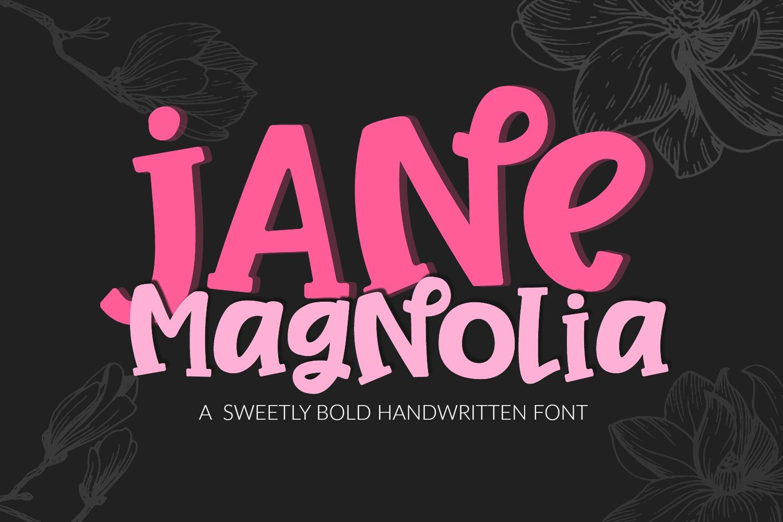 Jane Magnolia- Cut-Friendly Handwritten Font example image 2