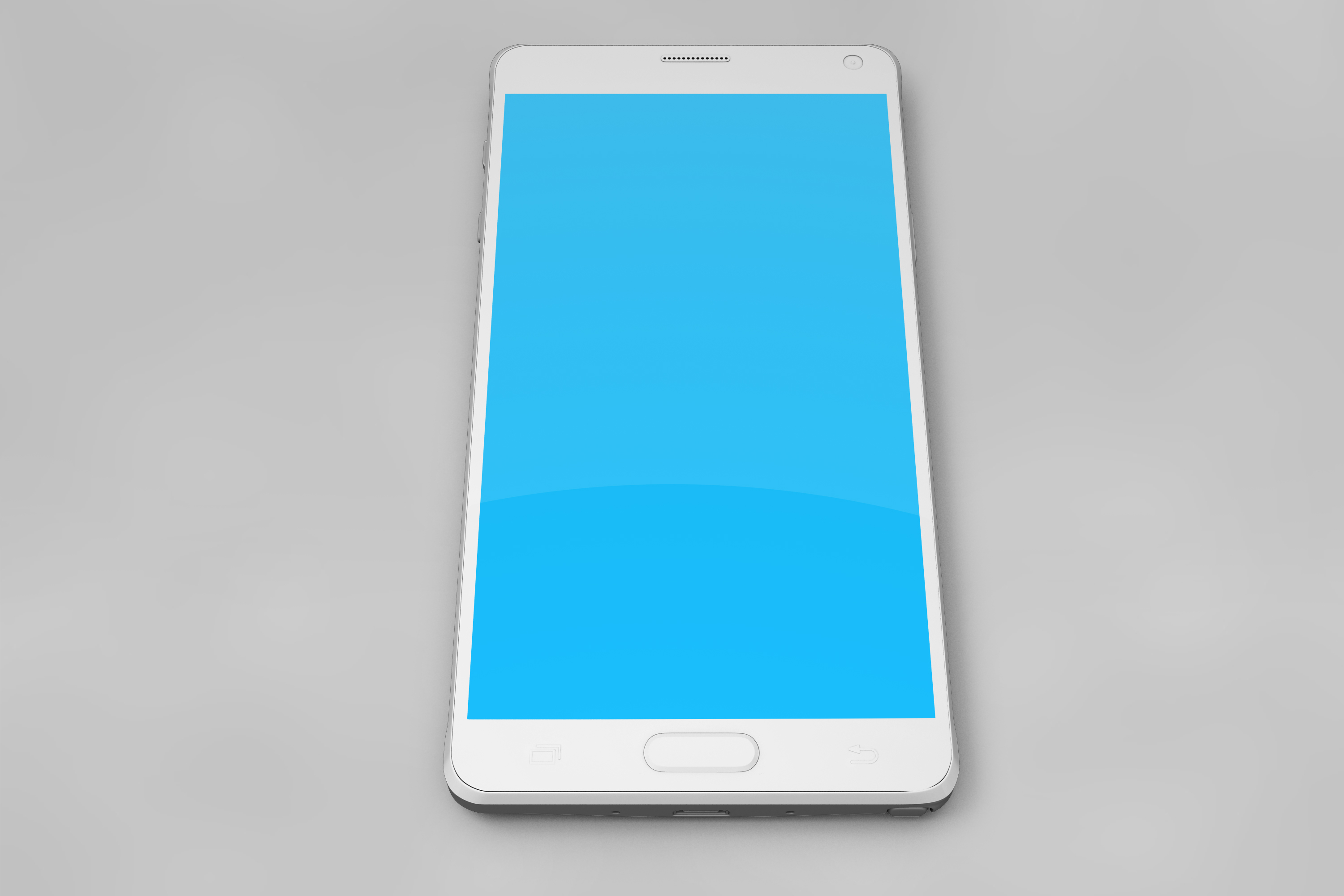 Samsung Galaxy Note 4 Mock-up example image 7