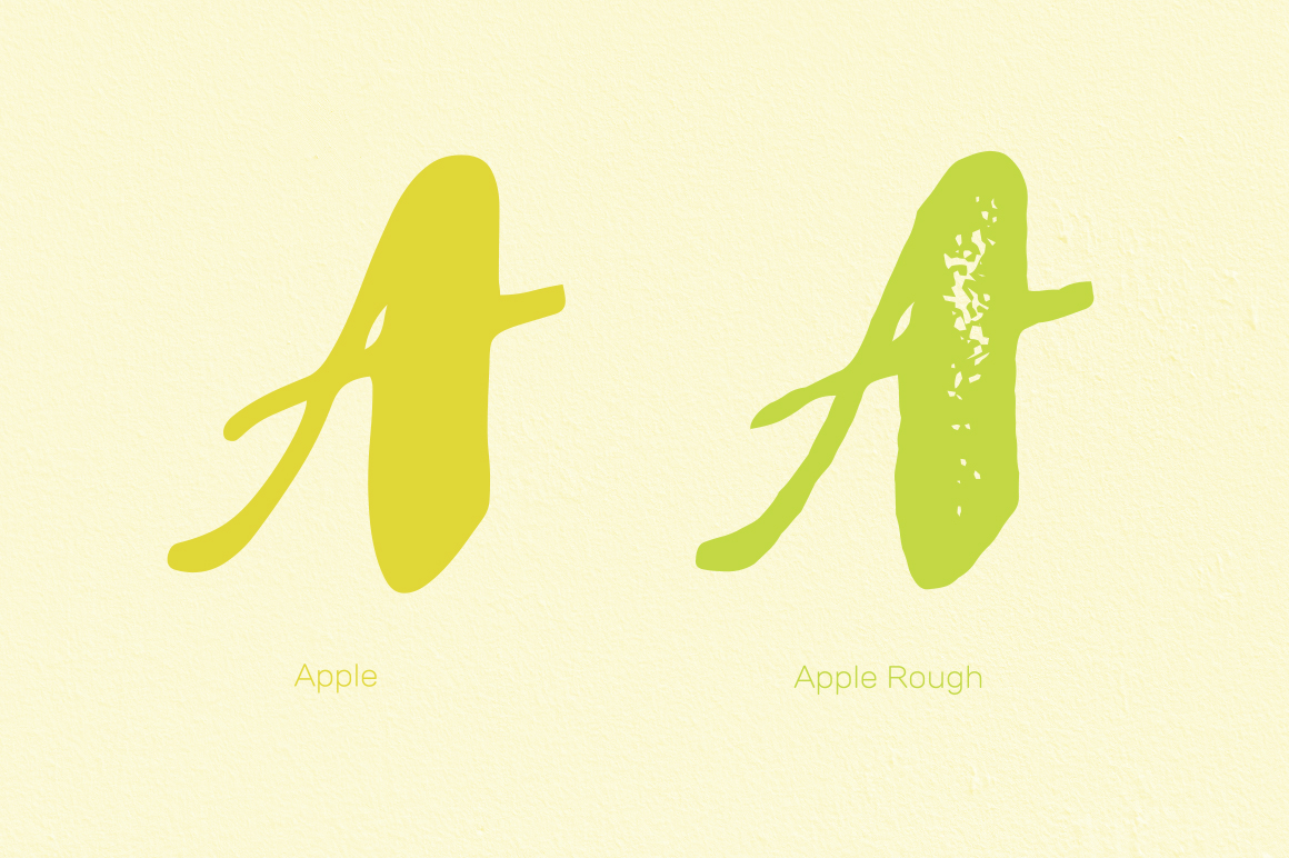 Apple & Apple Rough example image 2