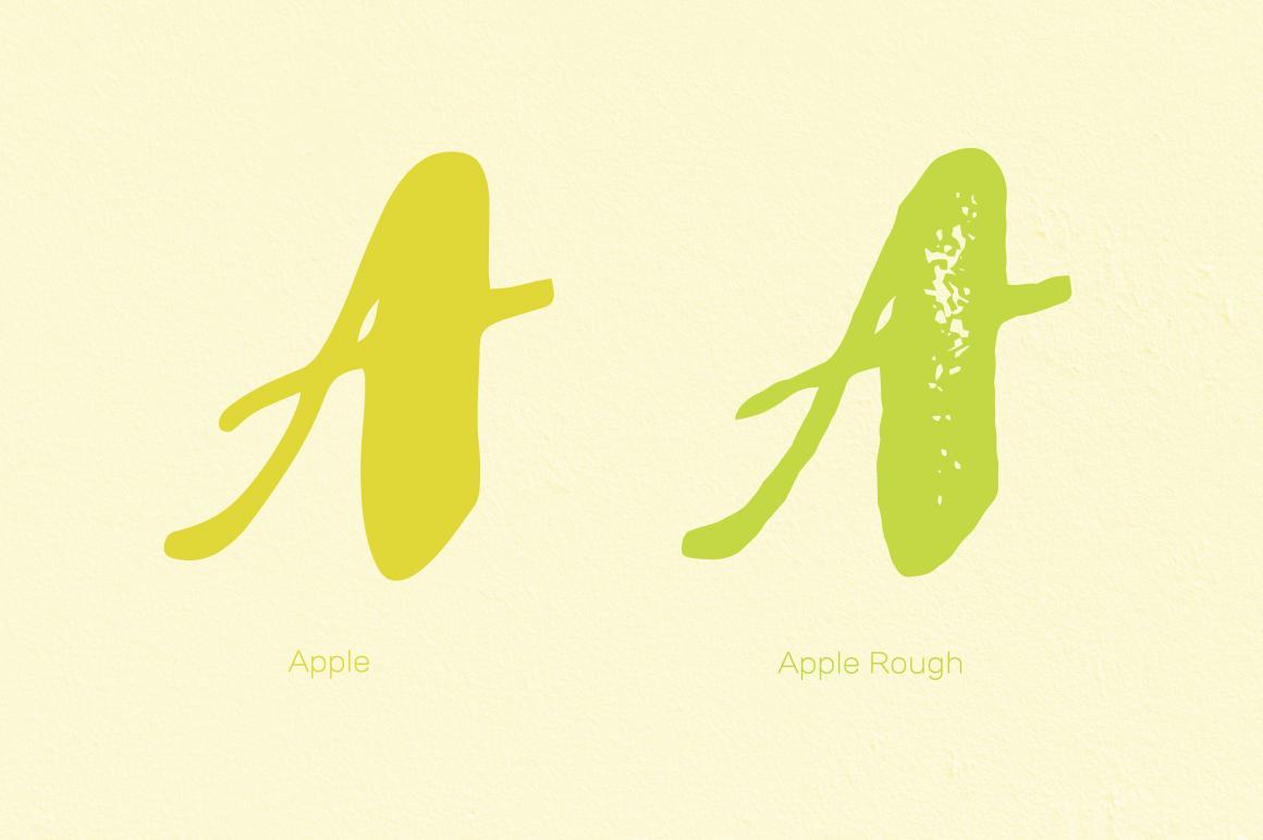 Apple & Apple Rough example image 2
