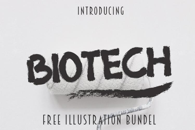 BIOTECH Extra 4 Illustration Tshirt example image 1