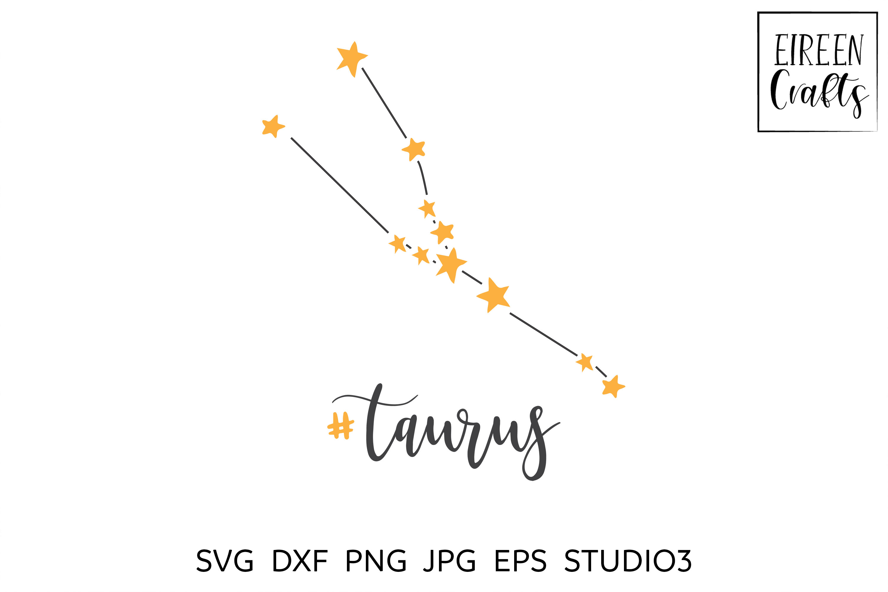 Zodiac SVG Bundle - Zodiac cut files for Cricut & Silhouette example image 3