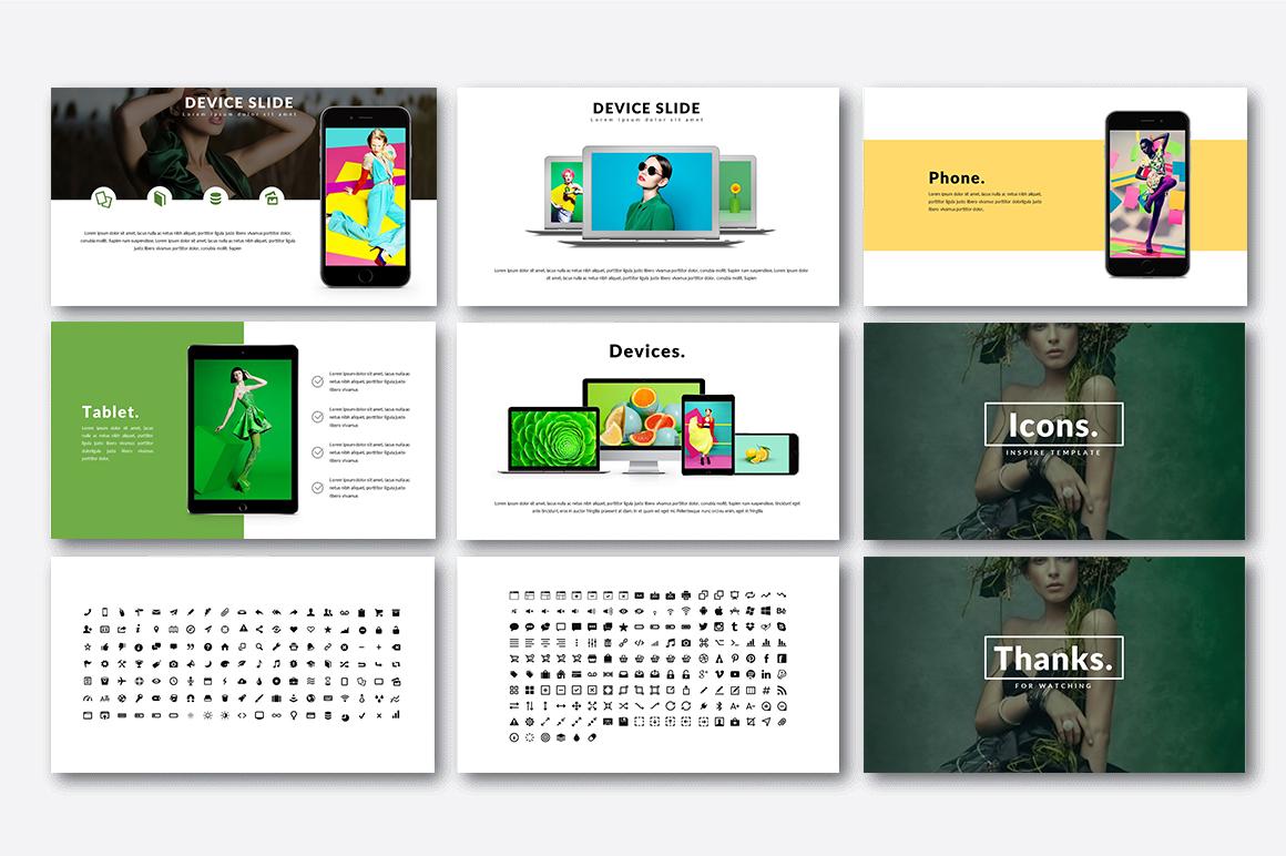 Inspire Creative Presentation example image 6