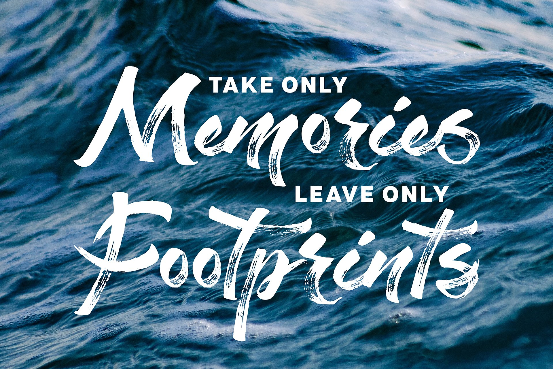 Staychill Brush Font example image 8