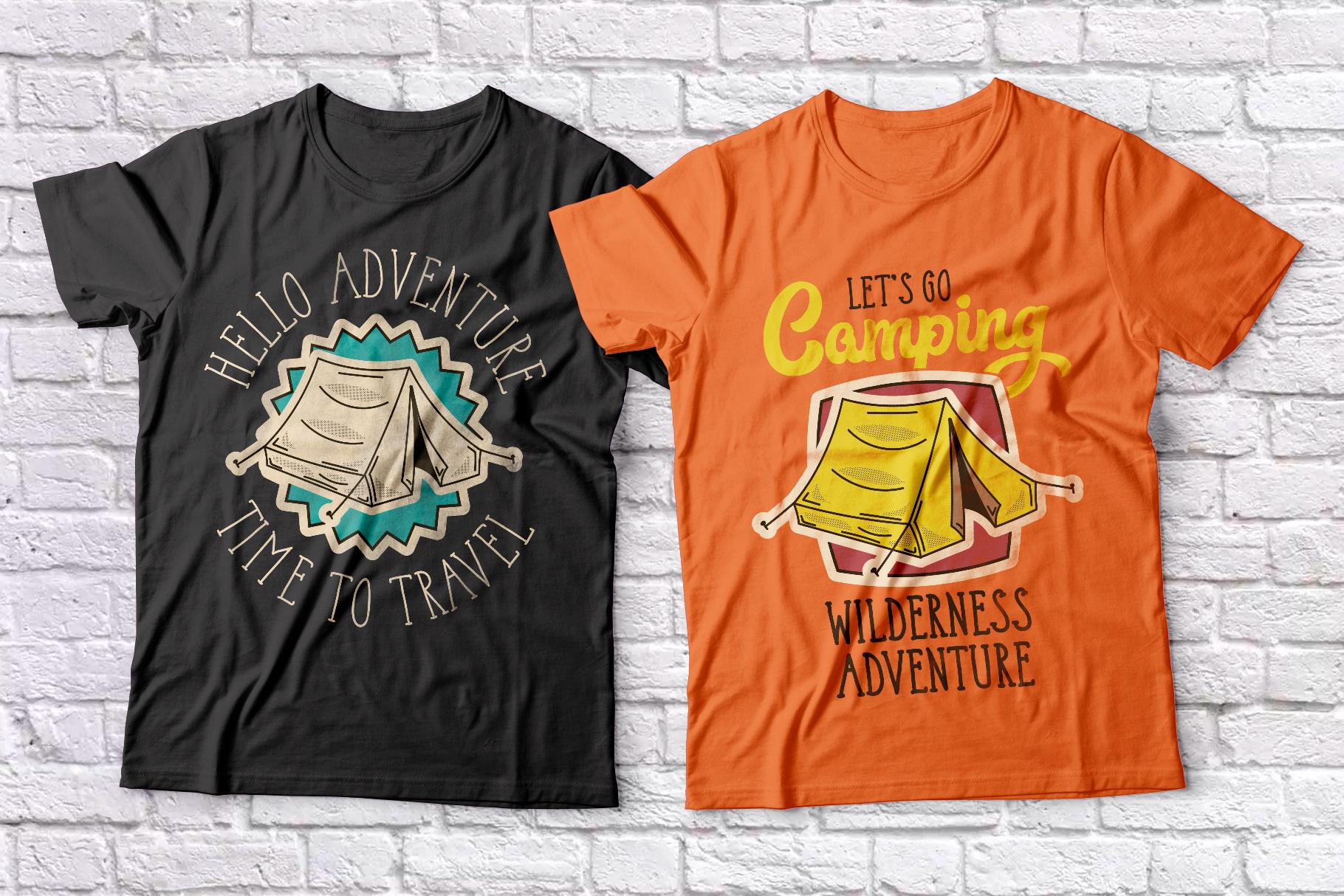 Adventure Typeface plus bonus graphics example image 4