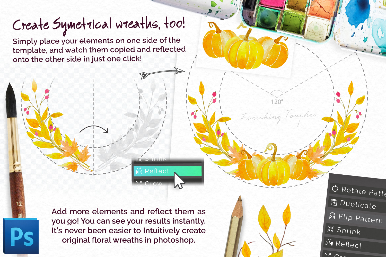 Autumn Wreath Creator example image 3