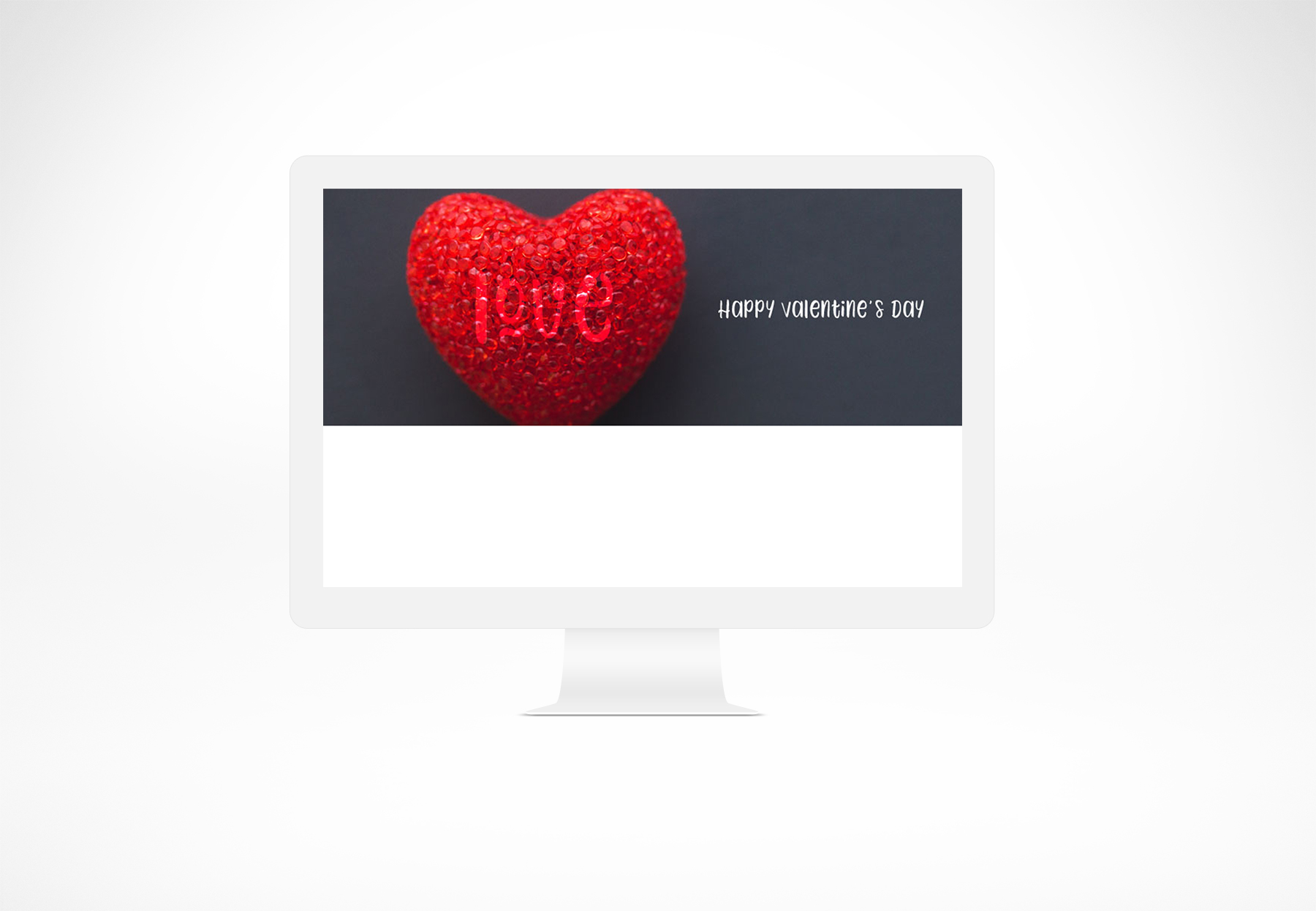 Valentine's Day Facebook Banner example image 3